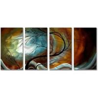 Megan Duncanson Midnight Wind Metal Wall Art | Overstock