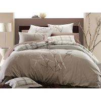 Embroidered Bamboo 3-piece King-size Duvet Cover Set ...