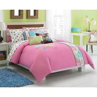 Shop Roxy Be True Twin XL-size 5-piece Duvet Cover Bedding ...