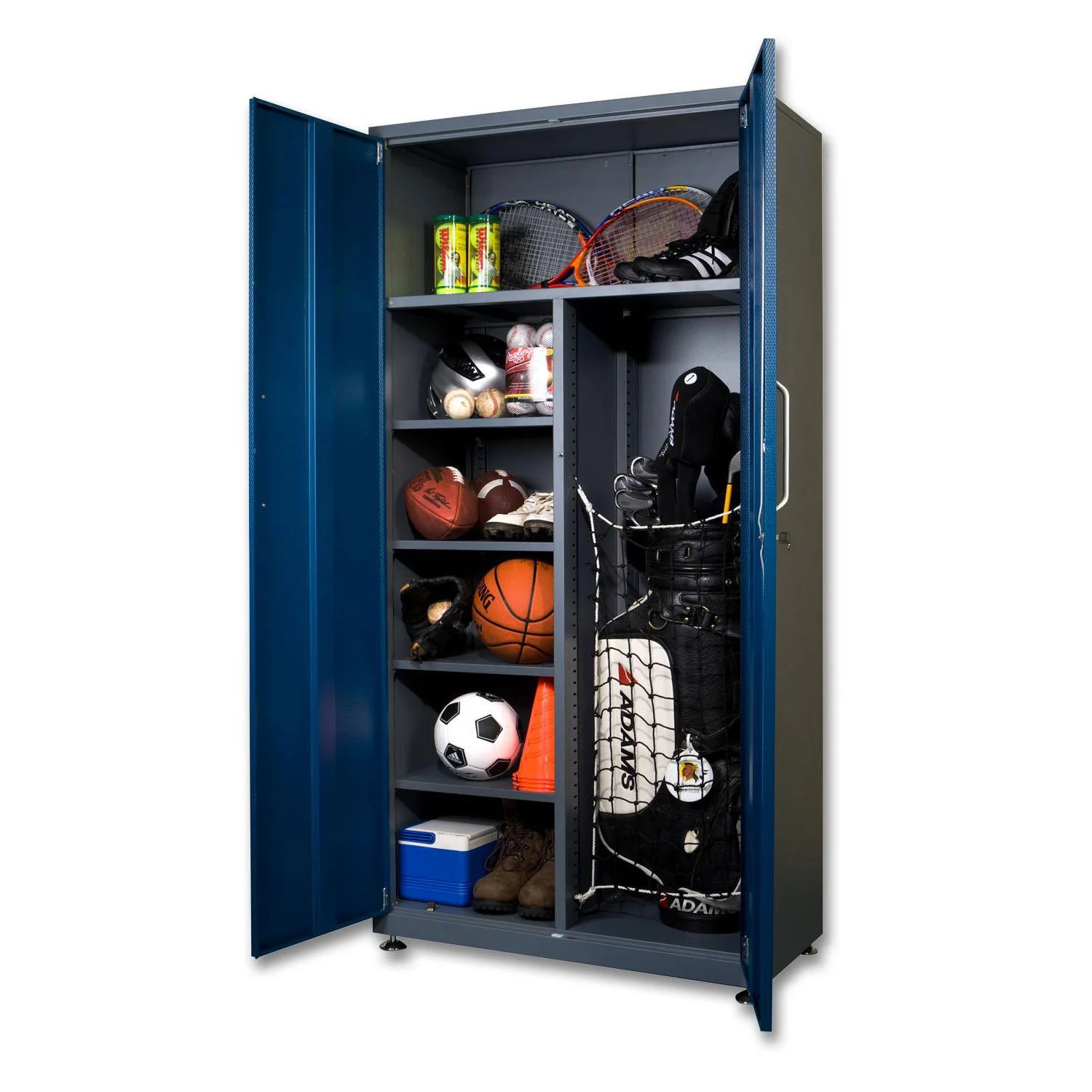 Garage Cabinets Overstock Spacemaker Garage Storage Tall Steel Locker Free