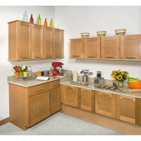Honey Stained 18-inch Wall Kitchen Cabinet - 14104732 ...