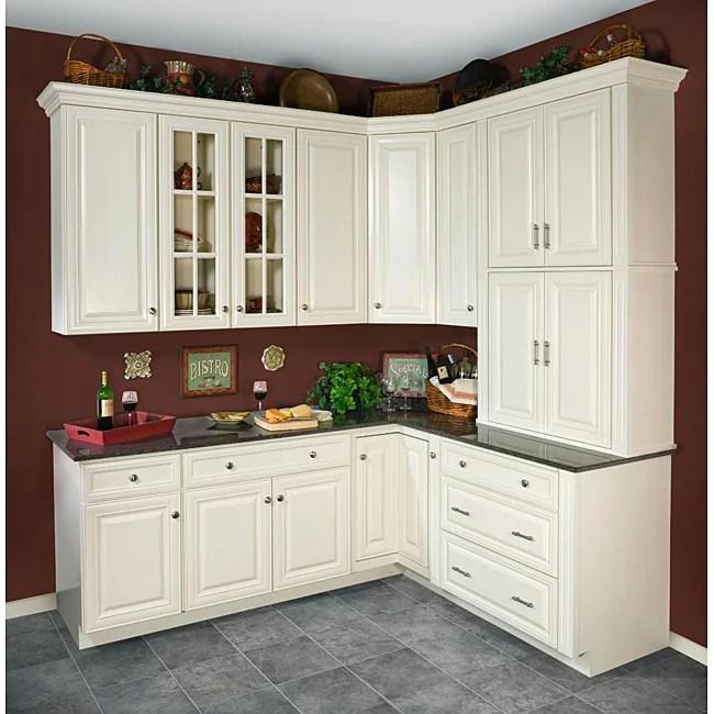 Antique White Wall Kitchen Cabinet (15x36)