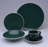Sasaki Colorstone Hunter Green 20pc Dinnerware Set - Free ...