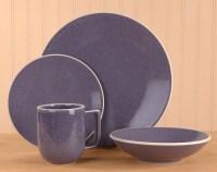 Sasaki Colorstone Lilac 16-piece Dinnerware Set - Free ...