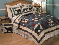 Black Bear Quilt Set - Free Shipping Today - Overstock.com ...