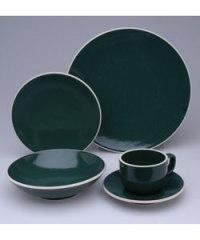 Sasaki Colorstone Hunter Green 20pc Dinnerware Set ...