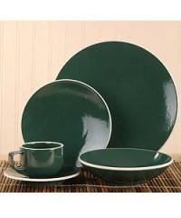 Sasaki Colorstone Hunter 20-piece Dinnerware Set ...