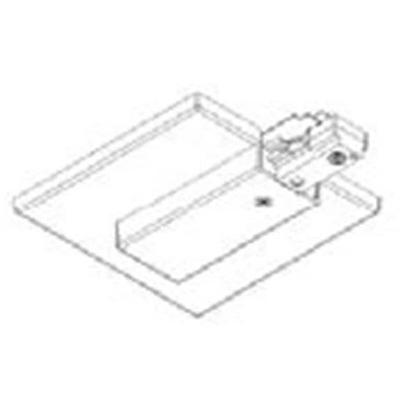 Shop Jesco Lighting J2LEC-WT End Feed with Outlet Box Cover - White