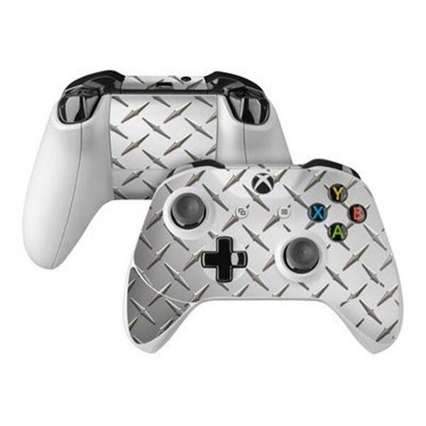 Shop DecalGirl Microsoft Xbox One S Controller Skin - Diamond Plate