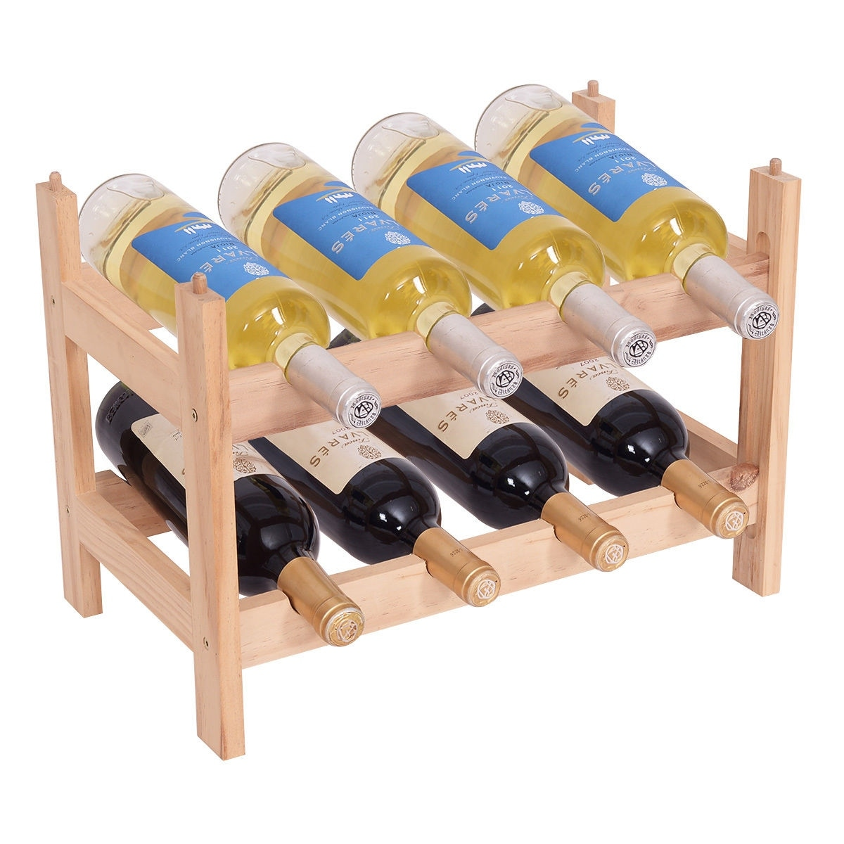 Wooden Bottle Rack Buy Wood Wine Racks Online At Overstock Our Best Kitchen Storage