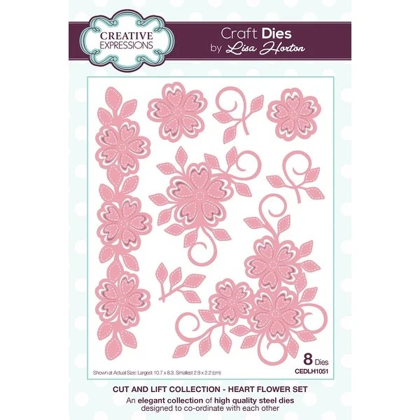 Die Collection Shop Creative Expressions Cut & Lift Die Collection-heart ...