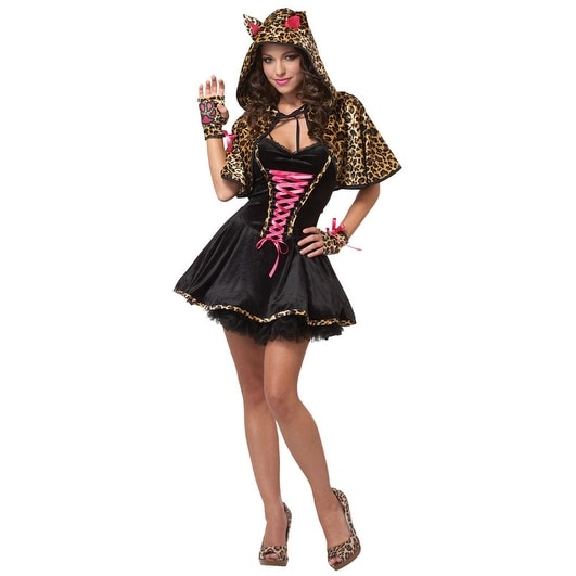 Shop California Costumes The Cats Meow Teen Costume - Black - Free