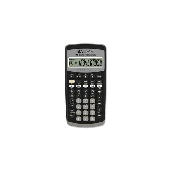 Shop Texas Instruments BAIIPLUS Texas Instruments BA-II Plus Adv