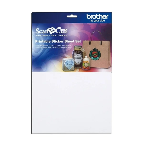 Shop Brother Sewing Capss1 Printable Sticker Sheet Set - Free