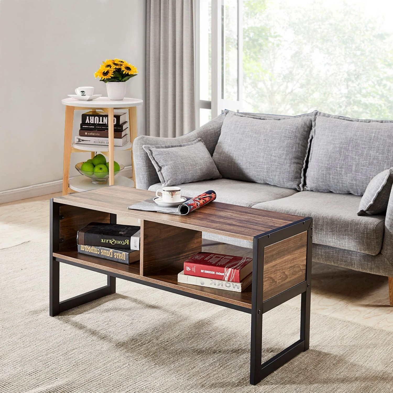 Modern Coffee Table With Storage Buy Mid Century Modern Coffee Tables Online At Overstock Our
