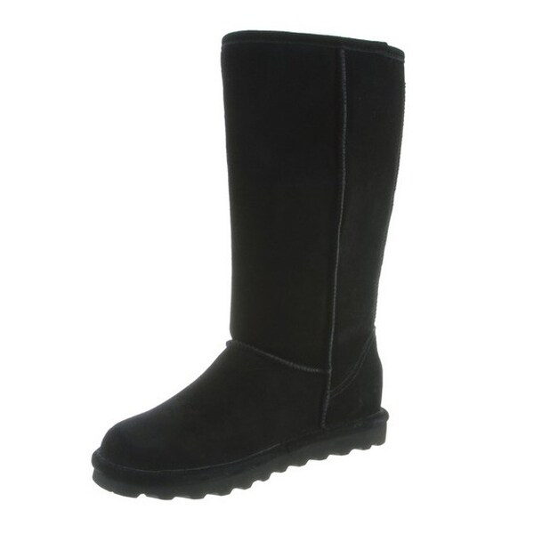 Shop Bearpaw Boots Womens Elle Tall Faux Fur Lined Suede