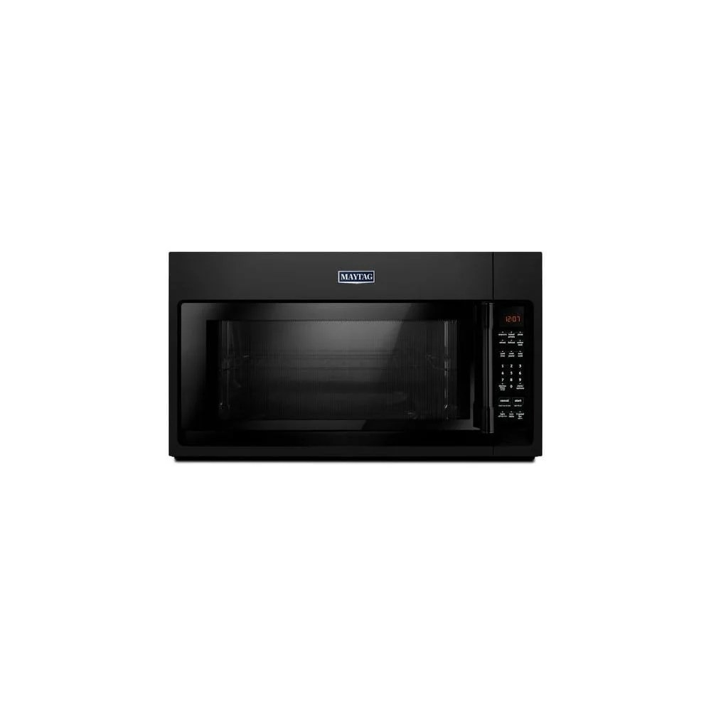 Shop Maytag Mmv4206f 30 Inch Wide 2 Cu Ft Over The Range Microwave With 400 Cfm Blo Free Shipping Today Overstock 22919812