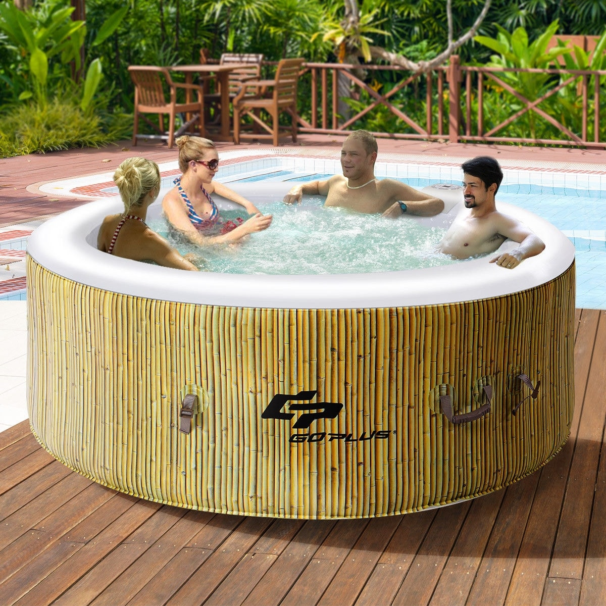 Outdoor Whirlpool Cheap Hot Tubs Spas Find Great Spas Pools Water Sports