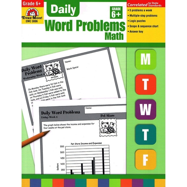 Shop Daily Word Problems Gr 6 - Free Shipping On Orders Over $45