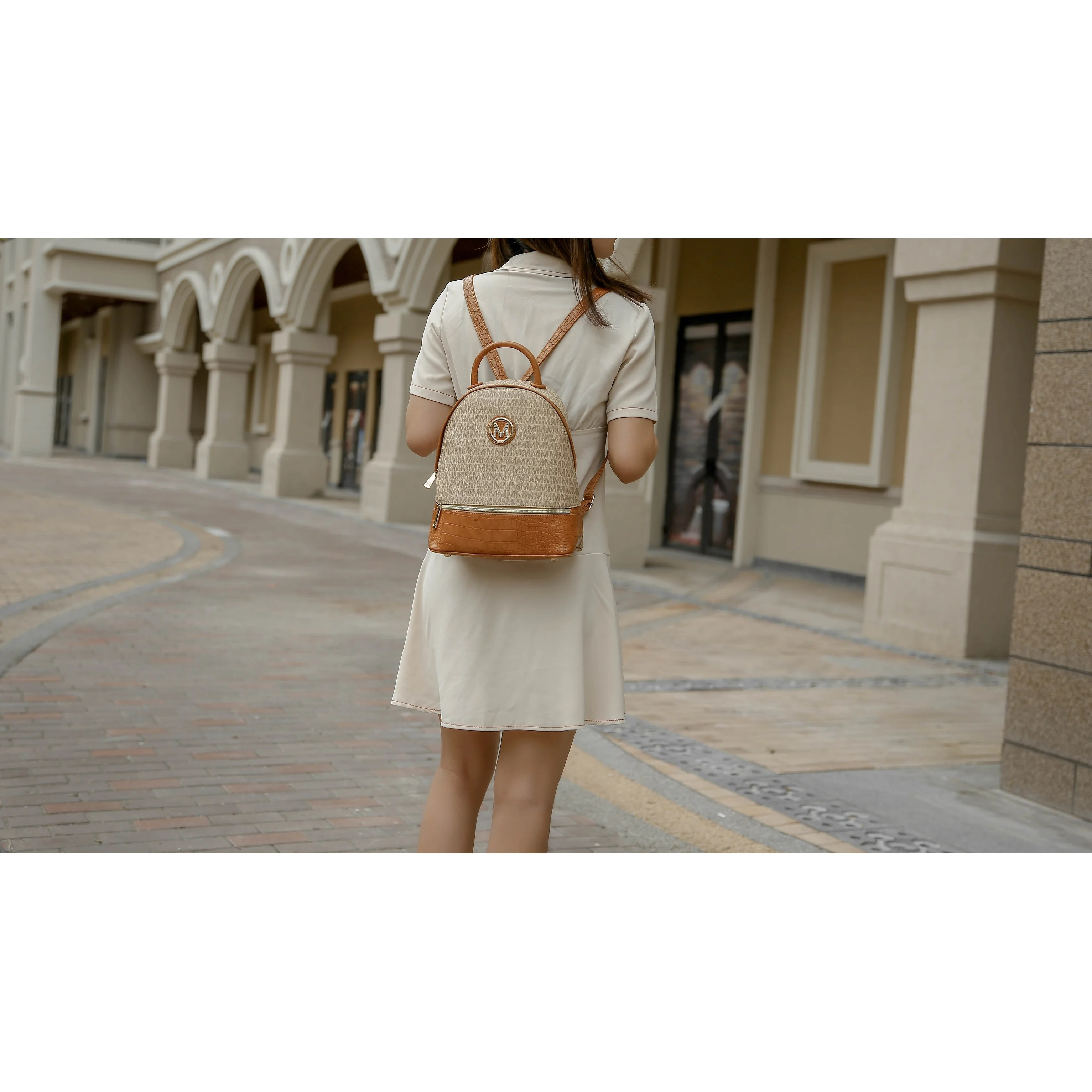 Mkf Collection Denice Signature Backpack By Mia K On Sale Overstock 31417154
