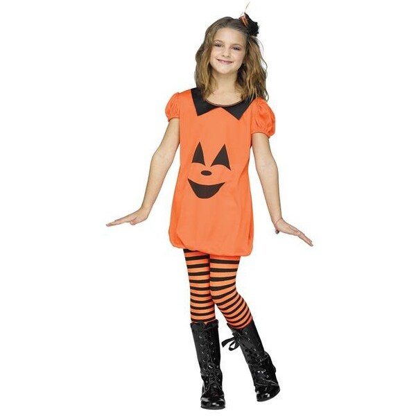 Shop Pumpkin Romper Child Costume, Large 12-14 - Free Shipping On