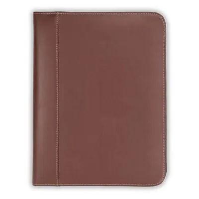 Samsill Contrast Stitch Leather Padfolio \u2013 Lightweight  Stylish - leather resume portfolio