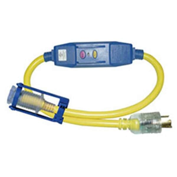 Shop 3 ft Cable, L5-20P To 5-15R Adapter With 20 AMP - Yellow