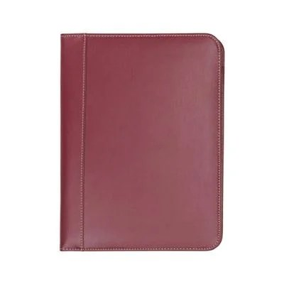 Shop Samsill Contrast Stitch Leather Padfolio \u2013 Lightweight