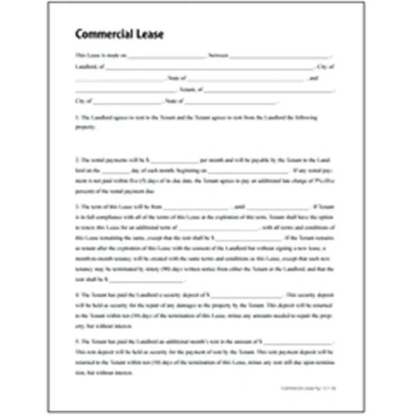 Shop Adams LF140 Commercial Lease Form - Free Shipping Today