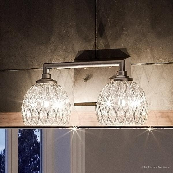 Shop Luxury Crystal Bathroom Vanity Light, 625\