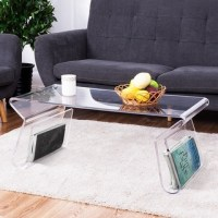 Adair Acrylic Coffee Table - Free Shipping Today ...