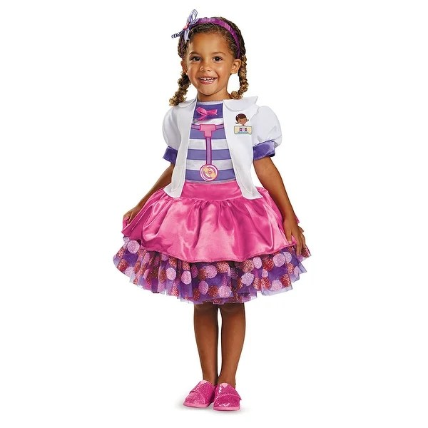 Shop Toddler Doc Mcstuffins Tutu Deluxe Halloween Costume - Free