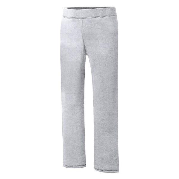 Shop Hanes Comfortsoft Ecosmart Girlsu0027 Open Leg Sweatpants