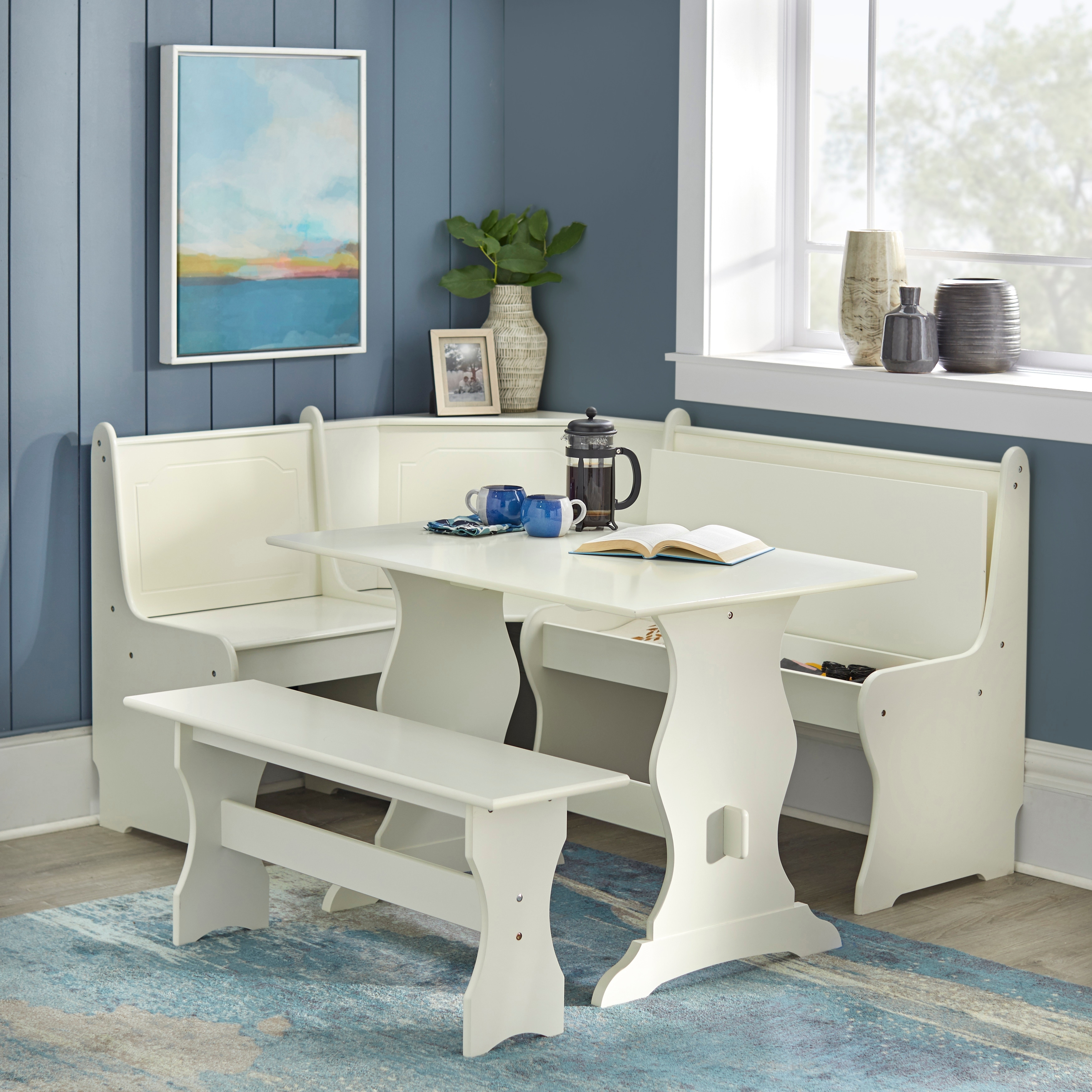Simple Living Bella Nook Dining Set On Sale Overstock 2560185