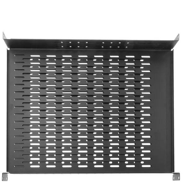 Shop Offex Rackmount Vented 4 Point Adjustable Shelf 19