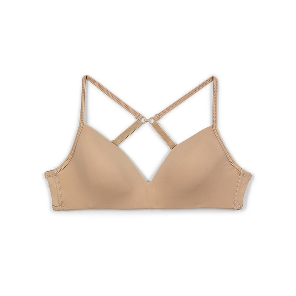 Shop Maidenform® Girls\u0027 Molded Soft Cup Bra - Color - Nude - Size