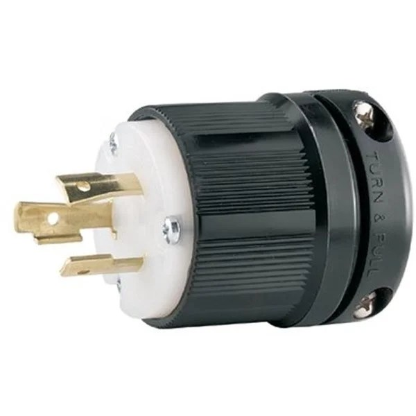 Shop Cooper Wiring Devices 309-CWL520P Plug 20A 125V 2P3W H-L Bw