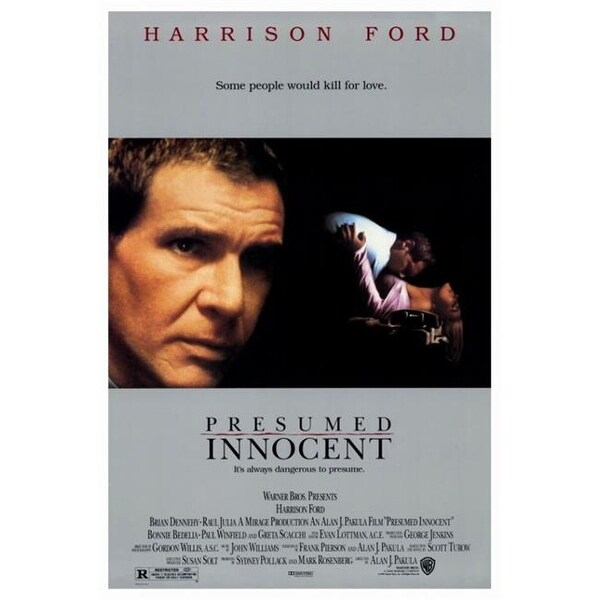 Shop Posterazzi MOVIF0382 Presumed Innocent Movie Poster - 27 x 40