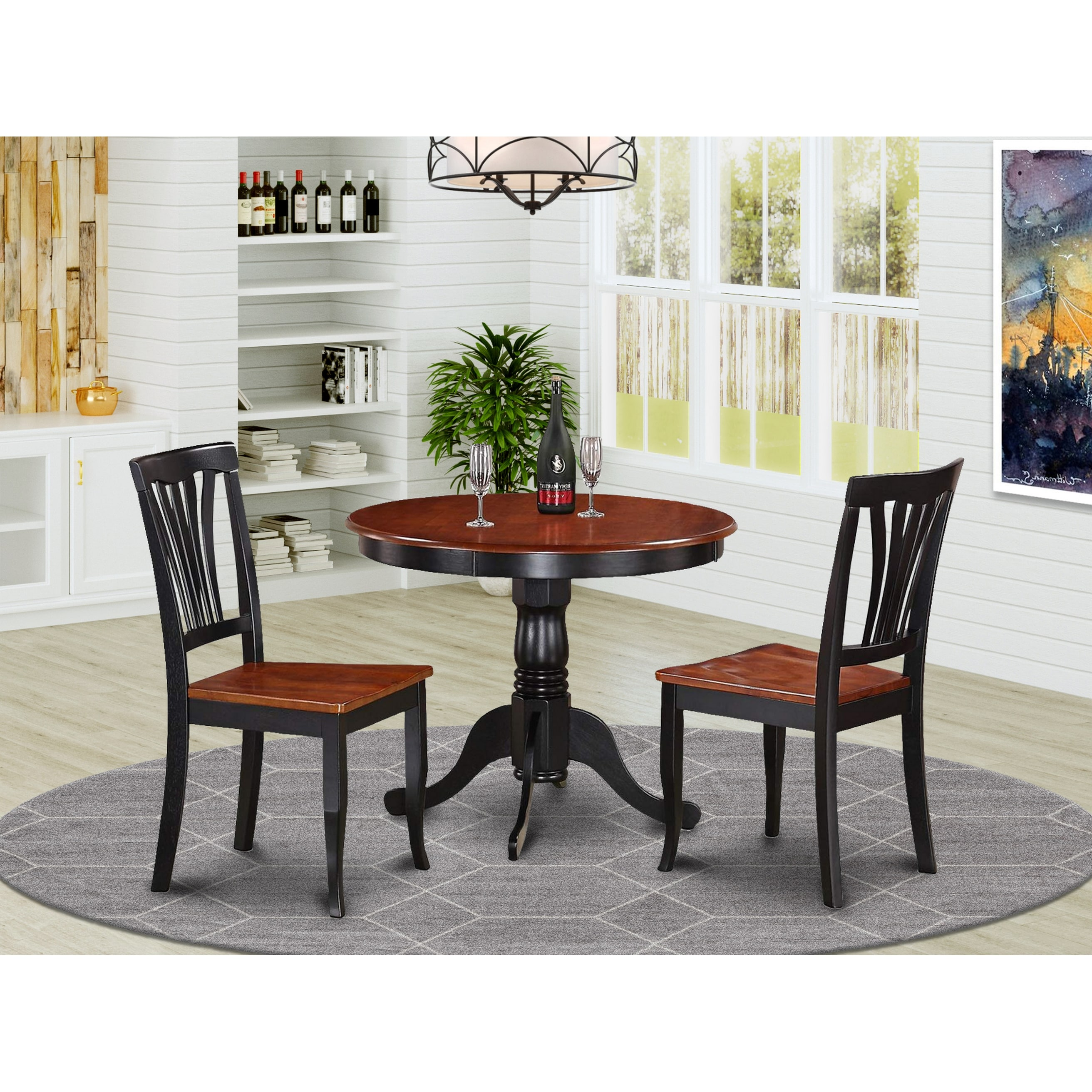 3 Piece Kitchen Nook Dining Set On Sale Overstock 10200001