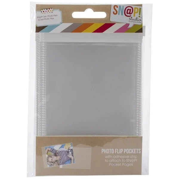 Shop Simple Stories Snatp! Photo Flips for 6 by 8-Inch Binders 3 by
