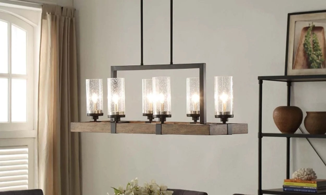 Chandelier Height 10 Foot Ceiling Top 6 Light Fixtures For A Glowing Dining Room Overstock
