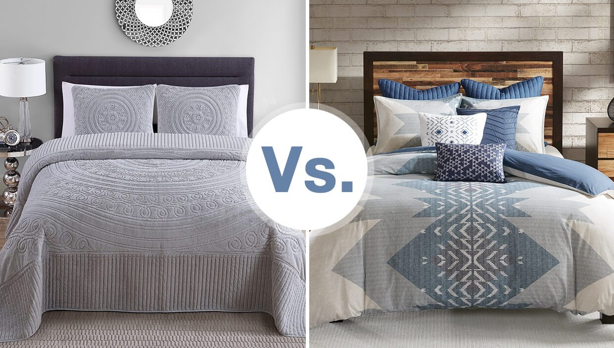 Duvet Covers And Comforters Do You Need A Bedspread Or A Comforter Overstock