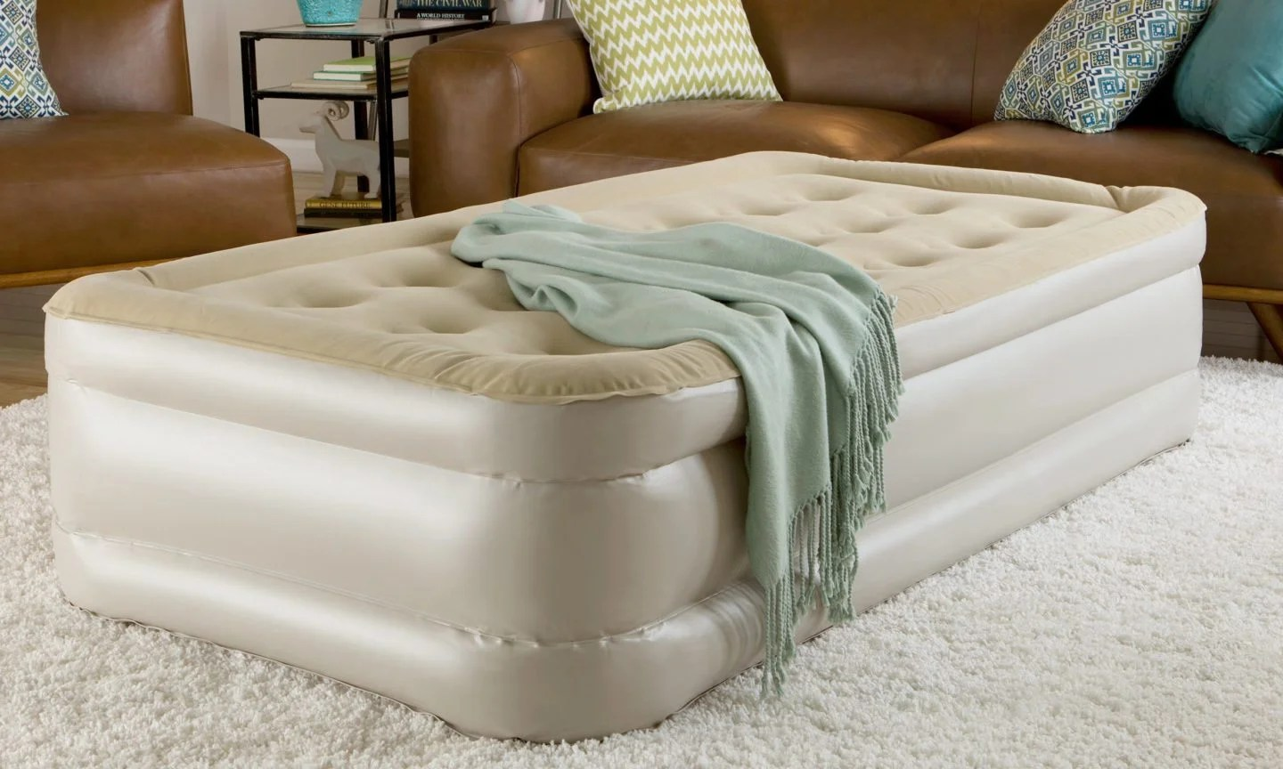 Comfy Air Mattress 5 Ways To Make Your Air Mattress More Comfortable Overstock