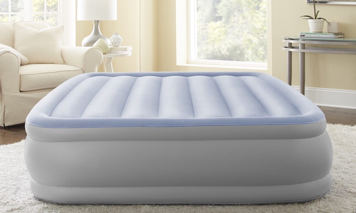 Big Inflatable Couch How To Choose Sheets For An Inflatable Mattress Overstock