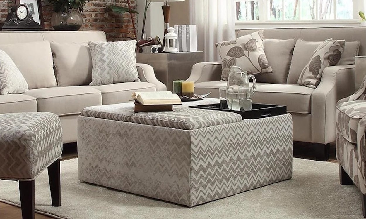 Ottoman Uses How To Incorporate A Storage Ottoman Into Your Home Overstock