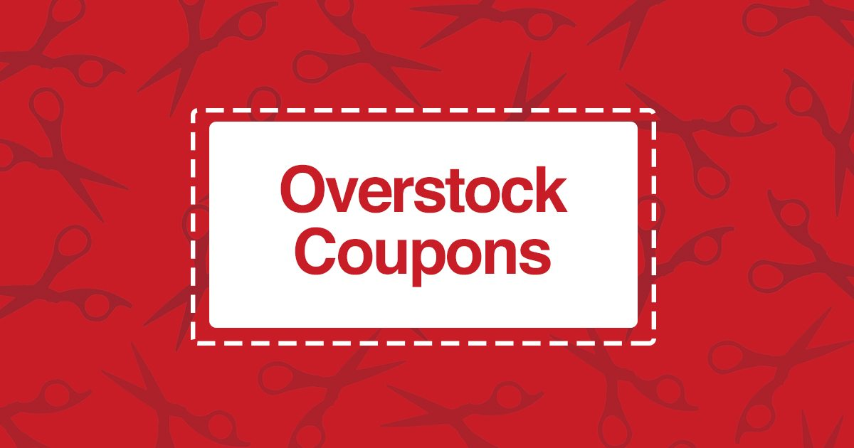 Overstock Coupons Savings You Can See - Overstock