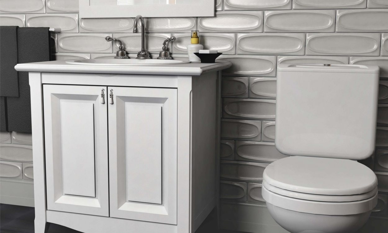 Install A Toilet How To Install Tile Around A Toilet Overstock