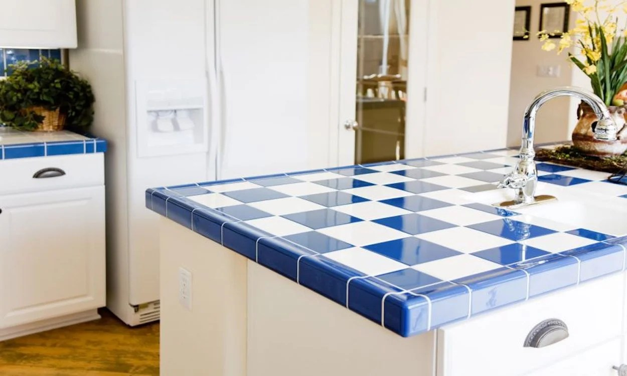 Kitchen Tile Pictures Best Types Of Tile For Kitchen Countertops Overstock Tips