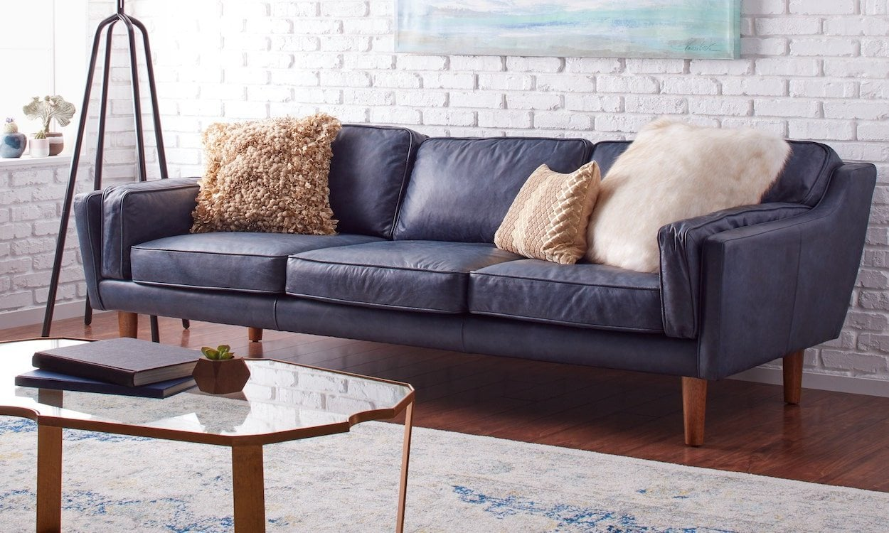 Big Sofa Petrol How To Decorate With A Blue Sofa Overstock