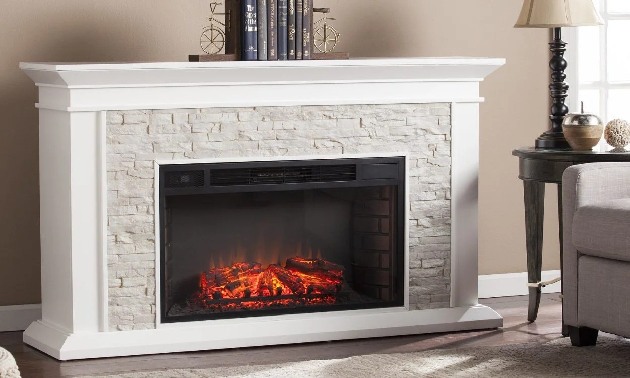 How To Operate A Fireplace How To Buy An Electric Fireplace Overstock Tips Ideas